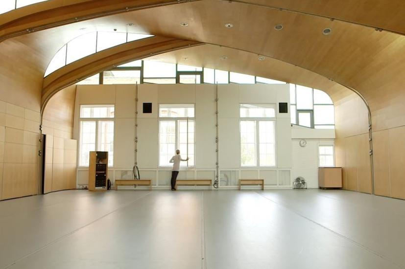 Siobhan Davies Studios, Roof Studio. Photo by Euan Robinson.